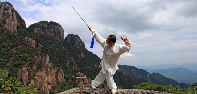 太极高手这样练剑