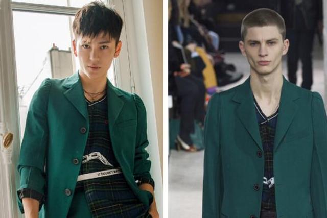王嘉时尚造型绅士潮人完美切换