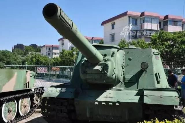 北京兵工大院里的二战坦克!