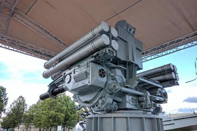 俄海军曝光自己铠甲近防系统