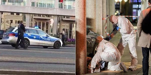 男子开车撞人致1死2上 被警察击倒