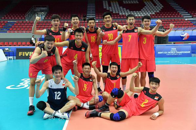 男排世青赛中国3-1力克日本