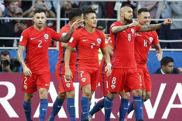 直击联合会杯智利1-1澳大利亚