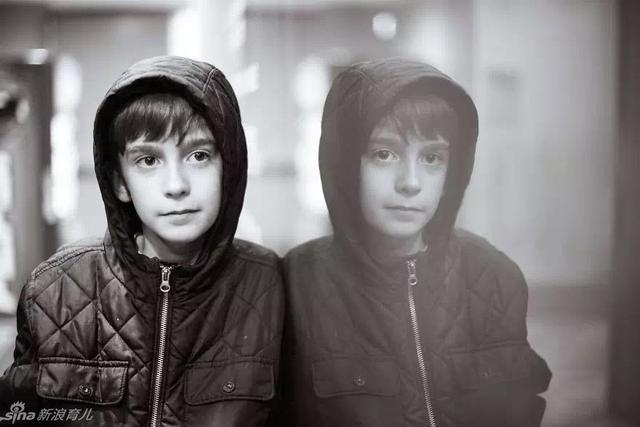 孤独症男孩的独特世界