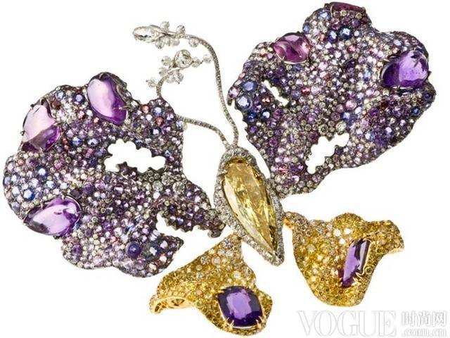 那些令人心动的蝴蝶珠宝