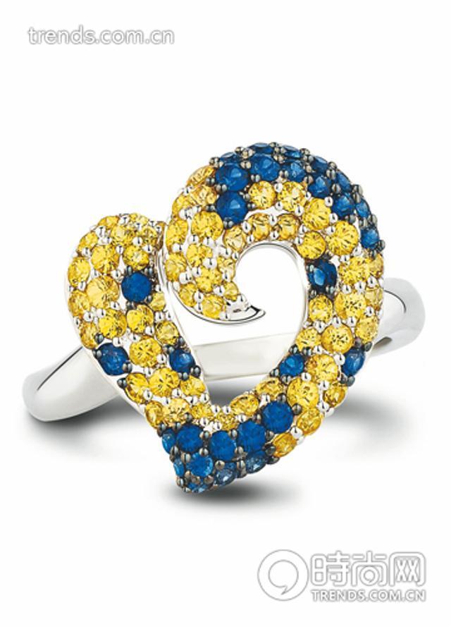 金色宝石正能量加轻奢华