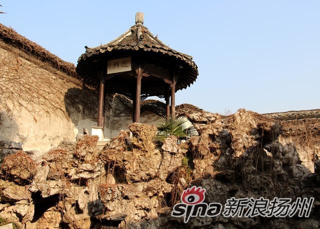 扬州的冬景与何园
