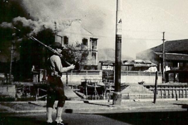 美军镜头下的日军暴行